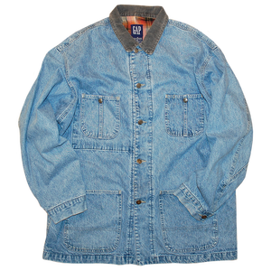 """Old GAP"" Vintage Denim Coveralls Used"