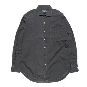 USED POLO by Ralph Lauren L/S color shirts - gray