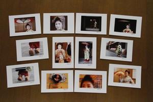 【京舞妓 小梅】ポストカード12枚セット