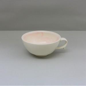 マーブル桃 スープカップ