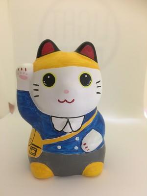 招き猫アート No.4 園児(男の子)