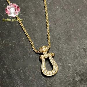 s925 horseshoe(necklace)