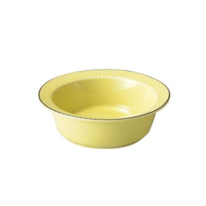 「ティント Tint」スープ サラダボウル 皿 M 約14cm イエロー 美濃焼 289018