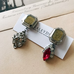 Vintage earrings [silver]