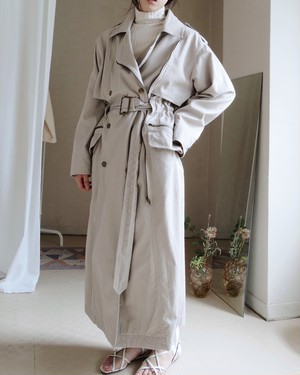 Cotton trenchi coat