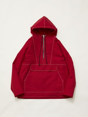 CAMIEL FORTGENS ANORAK WATERPROOF COTTON RED Red 10.08.06