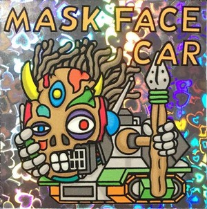 【VJ PARIS】S-06 MASK FACE CAR シール