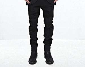 【66%OFF】【MINOAR】Unsulled Black Pants (BLK)