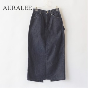 AURALEE/オーラリー ・HARD TWIST LIGHT DENIM SKIRT