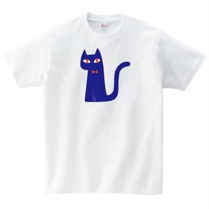 座ってる猫 Tシャツ