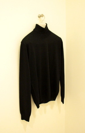 HERITAGE Silk Cashmere Turtleneck Sweater