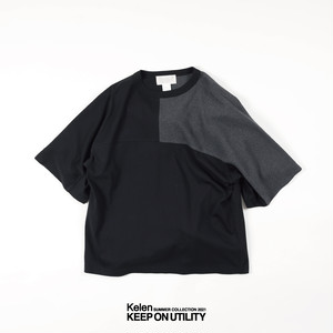 "Kelen / ケレン | ""GROFF"" SWITCH SLEEVE TEE"