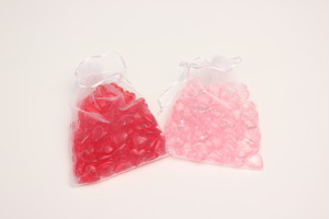ハート碁石単品(赤50個 ピンク50個)