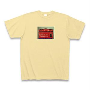 Tシャツ タイのポスト赤色タイプ ナチュラル【送料込み】