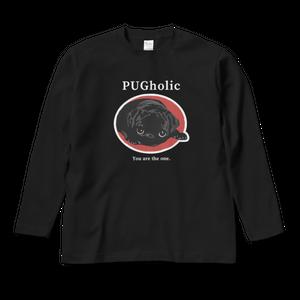 BLACK PUGロングスリーブTシャツ LTBP-UB1-SMLXL