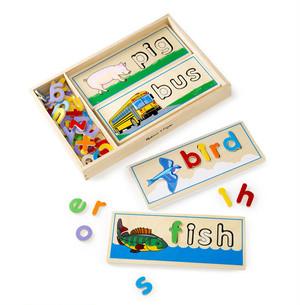アルファベットパズル 楽しく英語スペル覚える 対象年齢4-6