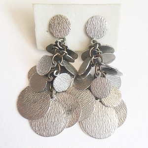 """Lewis Segal"" silver dangle earring[e-924]"