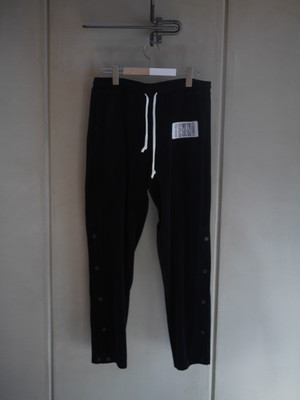 BLACK WEIRDOS / Velor Sweat Pants