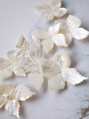 Flower Shell / 4pieces  SET - 001