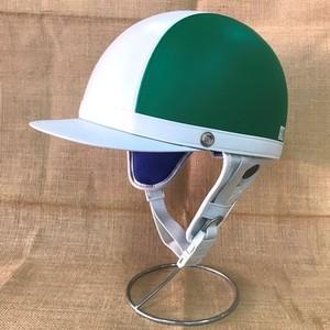 TACHIBANA CUSTOM series GT-14 オープンフェイスヘルメット シールド付 グリーン