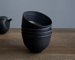 黒鉄釉  麺鉢(L)