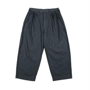 PORTER CLASSIC Poplin Jazz Pants Black PC-035-1087