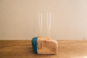 004-02 Drifted Brick Vase