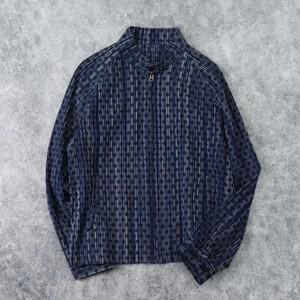【SOULIVE】INDIGO(本藍) SPLASHED JACKET ソウライブ 藍染 ジャケット 岡山 児島 日本製