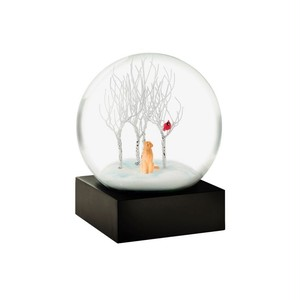 """Cool Snow Globes """"Lab in the woods"""""""