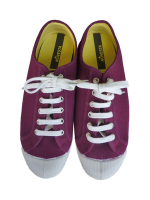 NOVESTA STAR-LOW CANVASスニーカーBurgundy