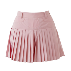 Pleats short pants (Pink)