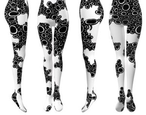 Avant-garde stockings. Avantgarde Legwear 02 / M&K Design