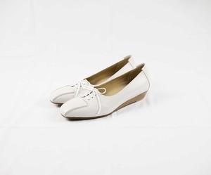 YOSHITO ヨシト 6006 レースアップパンプス スリッポン ローファー 白い靴