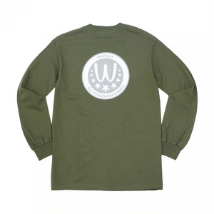 WHIMSY / POISONOUS GAME L/S TEE -MILITARY GREEN-