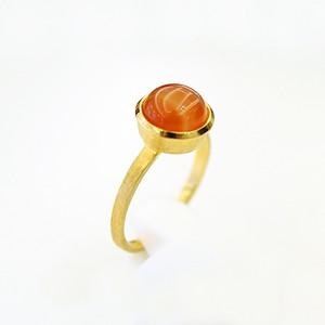 Ice ring オレンジバニラ(レッドアゲート)