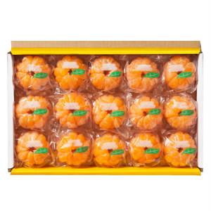 冷凍みかん むかん 15個ギフトボックス :2018-9490340000
