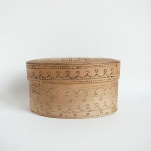 Svepask / スヴェープアスク 焼印模様入り ノルウェー 19世紀