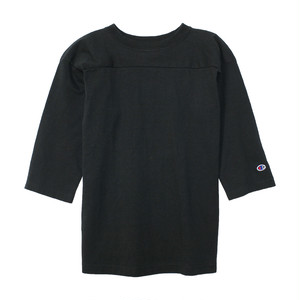 Champion / チャンピオン | T1011 FOOTBALL 3/4 SLEEVE Tee - Black