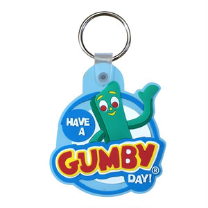 GUMBY ラバーキーホルダー (02:Have a Gumby Day)