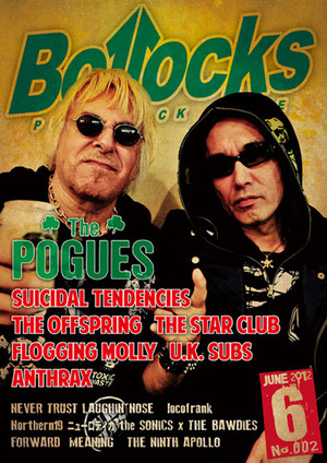 PUNK ROCK ISSUE Bollocks 002