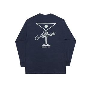 ALLTIMERS / LEAGUE PLAYER LONGSLEEVE TEE -NAVY-