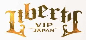 LIBERTY VIP JAPAN ステッカー ゴールド
