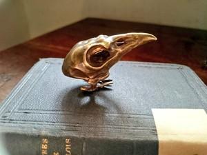 烏堂 /  烏頭蓋のリング 真鍮