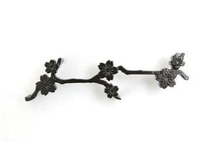 カトラリーレスト 桜 ブラック(2列: 2個入)