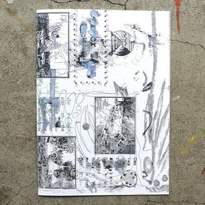 Leon Sadler/Fountain Drawings zine