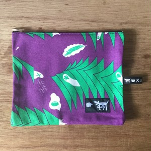 "ミニポーチ mini pouch ""sound wave""01"