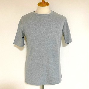 High Tension Circular Rib Crew Neck TEE Gray