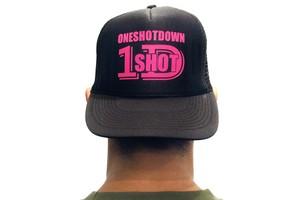 ONESHOTDOWN ロゴメッシュ CAP