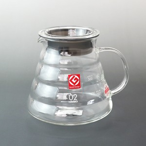 HARIO(ハリオ)600mlオール耐熱ガラスのレンジ専用サーバーV60 クリア コーヒー