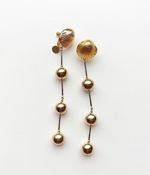 metal parts earring